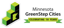 Minnesota GreenStep Cities 10 year logo